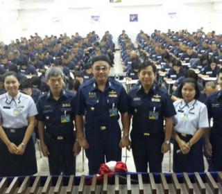 ทดสอบวิภาววิสัยนายทหารนักเรียนชั้นผู้บังคับหมวด รุ่นที่ ๗๗