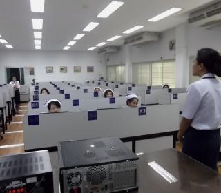 ทดสอบความถนัดและวิภาววิสัย บุคคลพลเรือนบรรจุเข้ารับราชการ ตำแหน่ง แพทย์และพยาบาล