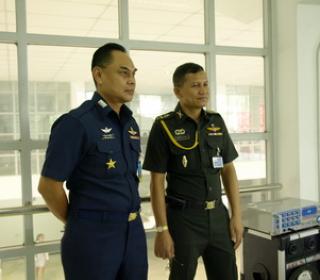 ทดสอบวิภาววิสัย ชั้นประทวนและสัญญาบัตร เข้ารับราชการใน ส่วนของ บก.กองทัพไทย