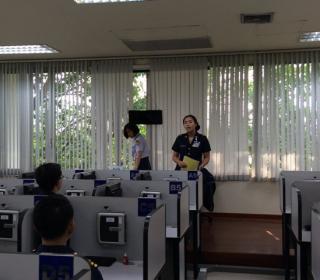 ทดสอบวิภาววิสัยข้าราชการเพื่อคัดเลือกไปศึกษาระดับปริญญาโท เอก ณ ต่างประเทศ