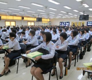 ทดสอบวิภาววิสัย นายทหารนักเรียนชั้นประทวน รุ่นที่ ๖๒