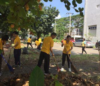 กิจกรรม Big Cleaning Day เพื่อถวายเป็นพระราชกุศลและเทิดพระเกียรติ