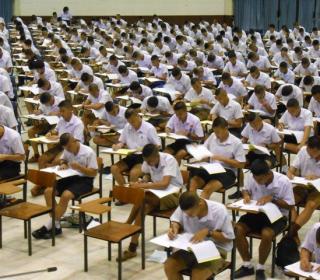 ทดสอบความถนัดและวิภาววิสัยนักเรียนเตรียมทหารเหล่า ทอ. ปี ๕๘