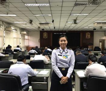 ทดสอบวิภาววิสัยนายทหารนักเรียนหลักสูตรนายทหารอากาศอาวุโส รุ่นที่ ๗๑