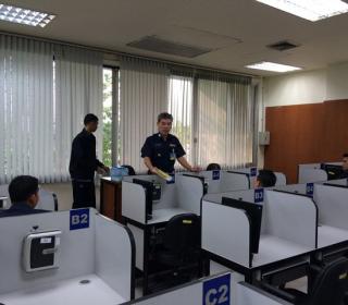 สอบคัดเลือกข้าราชการไปศึกษาหลักสูตรการศึกษาวิชาชีพทางทหาร (PME)ณ ต่างประเทศ